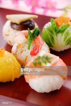 Sushi Balls Stock Photo | Getty Images
