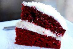 White Chocolate Red Velvet Cheese Cake