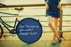 Stargirl quote.