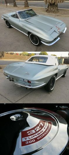 easy repair 1966 Chevrolet Corvette Sting Ray convertible project Sports Cars For Sale, Sport Cars, Chevrolet Corvette, Chevy, Project Cars For Sale, Convertible, The Unit, Easy, Power Cars