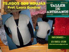 Tejidos Dos Agujas. Taller de Artesanos Clases y Cursos. Tel 011-15-5651-1538