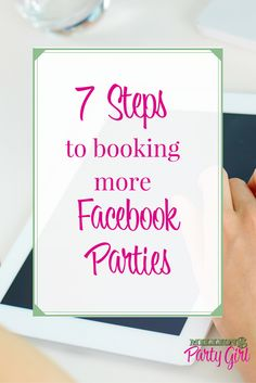 Learn what to post on Facebook to book more Facebook Parties