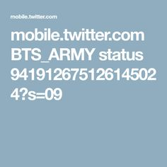 mobile.twitter.com BTS_ARMY status 941912675126145024?s=09
