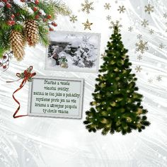 vanoce_vanocni_prani Merry Christmas, Christmas Ornaments, Advent, Santa, Holiday Decor, Happy, Merry Little Christmas, Christmas Jewelry, Wish You Merry Christmas