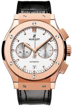 #Hublot Classic Fusion #Chronograph King Gold Opalin #Watch