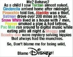 #blamedisney