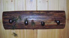 Oak Log Slab Hanger w/ RW Spikes