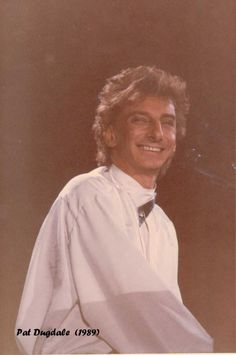 Barry Manilow On Broadway Tour 1989