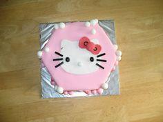 Hello Kitty girl birthday cake