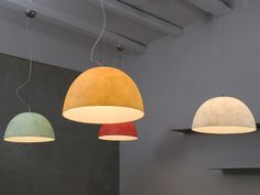 Lámpara colgante de resina H2O - In-es.artdesign