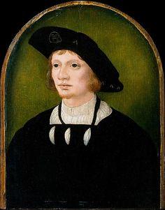 Netherlandish Painter: Portrait of a Man, first half 16th century. NYC, MET.