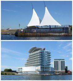 Saint Davids Hotel & Spa offre una vista spettacolare sulla baia di Cardiff e sul Mermaid Quay (complesso di ristoranti, café e hotel).