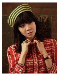 Gong Hyo-jin for Elle Korea April 2016 - Gucci Spring 2016 Asian Actors, Korean Actresses, Actors & Actresses, Jin Photo, Gong Hyo Jin, Gucci Brand, Gucci Spring, Elle Magazine, Korean Celebrities