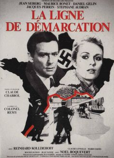 "La ligne de démarcation [""Line of Demarcation""] (Claude Chabrol, Jean Seberg, Movies 2019, Hd Movies, Ghibli, Jacques Perrin, Stephane Audran, Film Mythique, Claude Chabrol, Films Cinema"