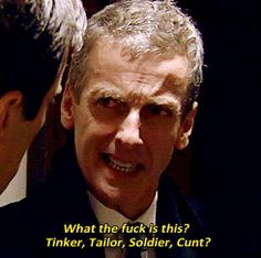 His most famous role to date is probably as spin doctor Malcolm Tucker on The Thick of It. | 23 Reasons To Love Peter Capaldi