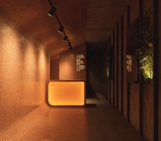 Gallery of Takeaway Restaurant Nakano / Pablo Muñoz Payá Arquitectos - 1 Spanish Architecture, Interior Architecture, Arch Interior, Laurent, Light Orange, Cafe Restaurant, Architect Design, Abandoned Houses, Alicante
