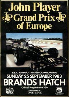1983 GP de Europa en Brands Hatch