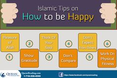 Islamic Tips On How To Be Happy And Relieve Stress