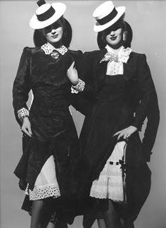 1939 Erwin Blumenfeld ,Fashion for Vogue, Paris