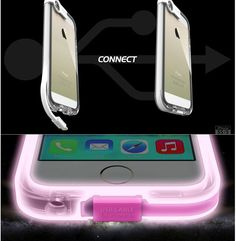 LED Flash Candy Color Transparent Iphone 5/5s Case|Creative Iphone Cases - Iphone Accessories - ByGoods.com