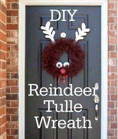 25 Adorable DIY Christmas Wreaths Ideas