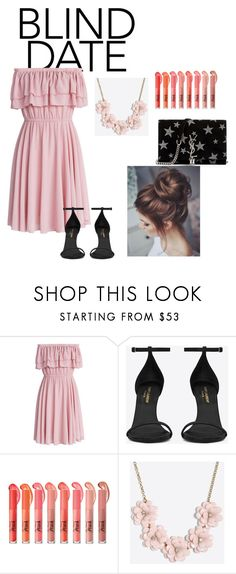 """""""Untitled #33"""" by lily-ngugi on Polyvore featuring Chicwish, Yves Saint Laurent and J.Crew"""