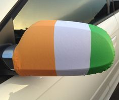 Our Ireland Car Mirror Flag is the perfect addition to your car so that you can fly your colours! So if your feeling patriotic, buy your flag and hold it high!