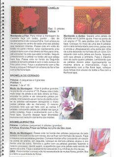 Flores em E.V.A. / PET / Meias de Seda: Apostila Flores E.V.A.