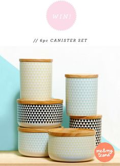 scandinavian canister set - Google Search