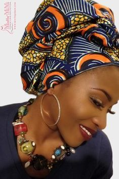 Head Wraps for Women, African head wraps, Ankara head wraps, head wraps, African fabric head wraps - Nenneh African Head Scarf, African Head Wraps, African Beauty, African Women, Head Wraps For Women, African Fashion Ankara, African Style, Head Wrap Scarf, Head Scarfs