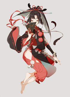 Kogarasumaru is infinitely older than even Jiji— so great great grandma, Jiji's mama? Game Character Design, Fantasy Character Design, Character Design References, Character Design Inspiration, Character Concept, Character Art, Concept Art, Fantasy Kunst, Fantasy Art