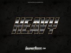 GraphicRiders | Action style – Heavy (free photoshop style)