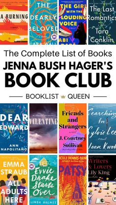 Find out what the Read with Jenna book club is reading this month and see every book on Jenna Bush Hager's book club list.