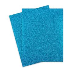 Glitter Paper - TEAL BLUE Glitter Letter Size - 10 PK Specialty coated glitter paper for durability and no shedding. colorful glitter which cuts