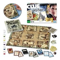 Harry Potter Clue game... Ok I kind of want this .