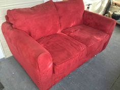 Comfy couch just has some scratches. http://seattle.craigslist.org/see/zip/4953840402.html