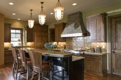 Kitchen - traditional - kitchen - minneapolis - by Stonewood, LLC