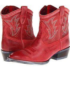Ariat. Life is short. Buy the red boots!