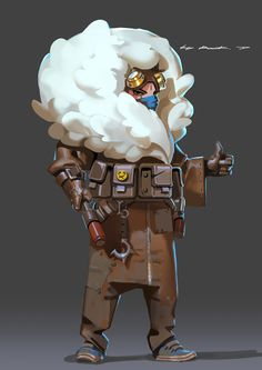 ArtStation - Daily Practice, Rock D 2d Character, Character Design References, Character Concept, Concept Art, Character Illustration, Digital Illustration, Portraits, Illustrations, Character Design Inspiration