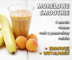 Morelowe smoothie doda Wam energii i schłodzi w upalne dni. :) #smoothie #morele #owoce #zdrowie Cantaloupe, Detox, Fruit, Food, Essen, Yemek, Eten, Meals