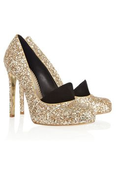 Glitter Shoes.