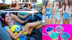 Road Trip! ☼ with Maybaby (Megan DeAngelis) Eva (Mylifeaeva) Sierra (sierraMariemakeup) Alisha (Alisha Marie) diy snacks! Music! car breaking down. And More!