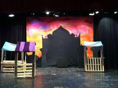 Aladdin Set - pallet wood