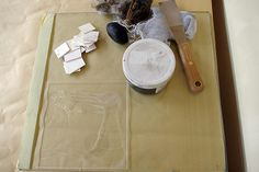 How to Drypoint on Perspex (Plexi-glass)