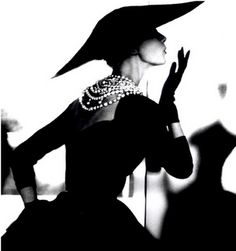 Vintage Dior...makes me want to go back in time...