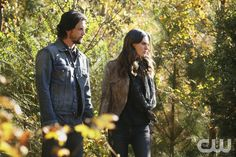 """The Originals -- """"The Devil is Damned"""" -- Image Number: OR213b_0306.jpg -- Pictured (L-R): Nathan Parsons as Jackson and Phoebe Tonkin as Hayley -- Photo: Quantrell Colbert/The CW -- © 2015 The CW Network, LLC. All rights reserved.pn"""