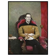 Star Trek TNG: Data Poster. I need this framed and in my study.
