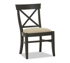 Aaron Upholstered Chair PotterybarnOverall 22 Wide X 24 Deep 365 Kitchen ChairsDining Room
