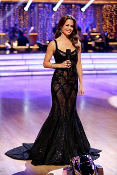 Brooke Burke-Charvet  -  co-host  -   Dancing With the Stars  -  season 17  -  fall 2013