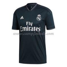 Real Madrid Fotballdrakter 2018-19 Bortedrakt Polo Shirt, T Shirt, Real Madrid, Polo Ralph Lauren, Mens Tops, Supreme T Shirt, Polos, Tee Shirt, Polo Shirts